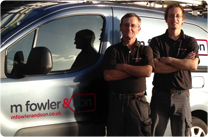 M W Fowler Electricians, Exeter, Devon